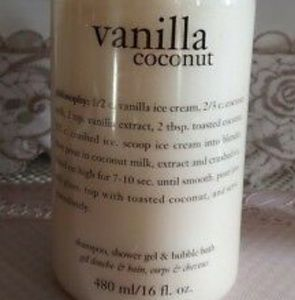 Philosophy vanilla coconut all in one shower gel